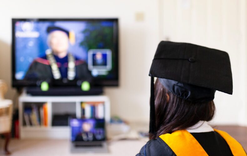 A virtual graduation – who would have thought?